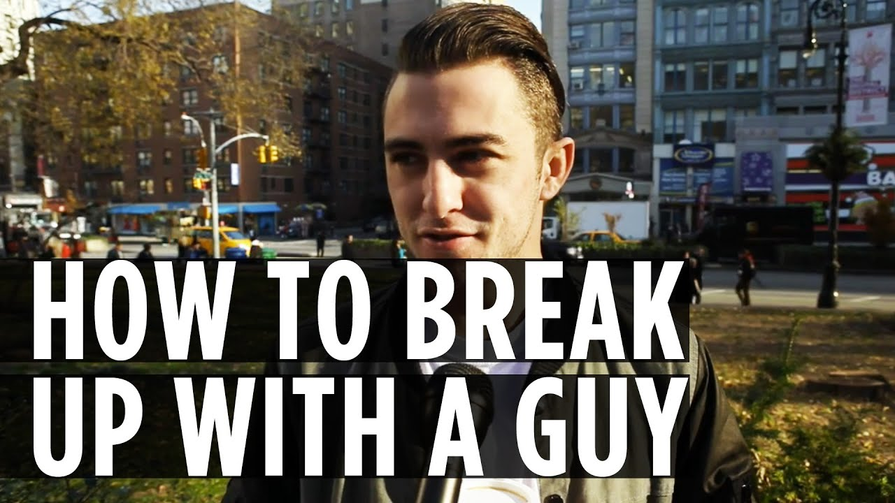 how to break up with somone Dealing with holidays, birthdays, and bar exams is stressful enough, but it's even harder if you're trying to break up with someone at the same time.