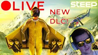 Steep - New DLC Live Stream - Jetpack - New Sports! (PC)