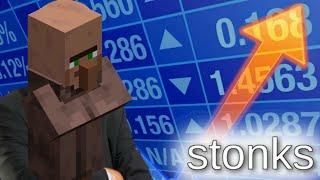 Minecraft Stonks