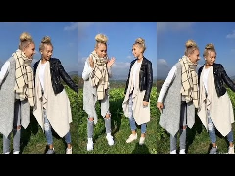 Lisa and Lena   Boom shakalaka JumpShot #Dance