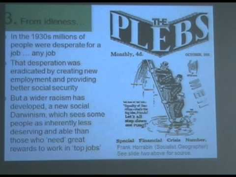 Marxism 2010 - Danny Dorling - Injustice: Why Social Inequality Persists