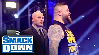 Pearce declares Owens will challenge Reigns at Royal Rumble SmackDown Jan 15 2021