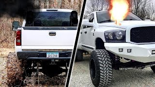 Amazing and Powerful Trucks - Twin Turbo