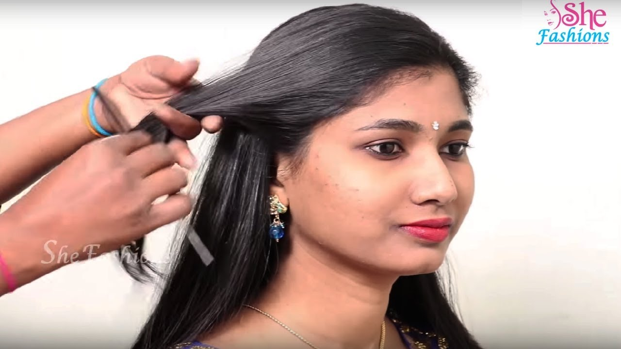 5 Easy Hairstyles For Long Hair Step By Step Tutorial Simple Hairstyle For Long Hair
