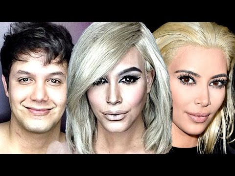 Man Turns Into Kim Kardashian - Shocking Transformation