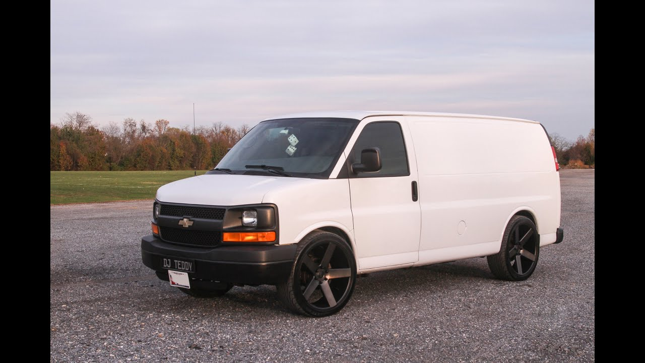 Chevy Express Van >> 2008 Chevy Express van with Dub Ballers - YouTube