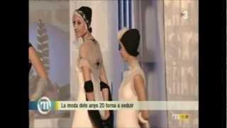 TV3, Els Matins, 18/12/2012, Gran Teatre del Liceu, Fashion Performance, Natalie Capell Thumbnail