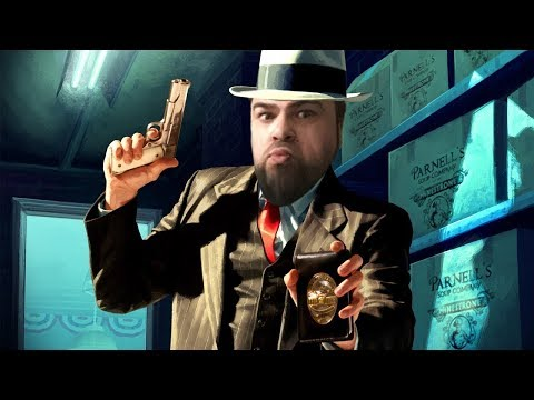 Detective Dan Intox back on the case... come party! - L.A. N