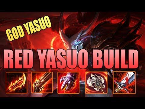 [ Bình Luận LMHT ] Yasuo TOP | Lên Đồ Đỏ Chót Vót Cho Yasuo | Quadrakill Không Chính Thức