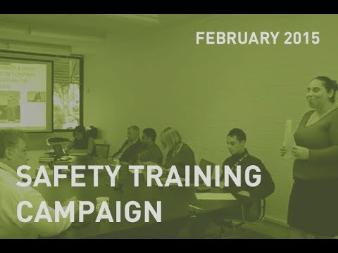 CMC Safety Training Campaign