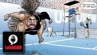 Julia and Melanie Eusebe clash over the Serena Williams cartoon