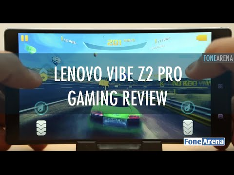 Lenovo Vibe Z2 Pro Gaming Review