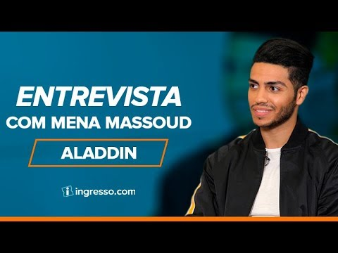 Aladdin | Entrevista com Mena Massoud | Ingresso.com
