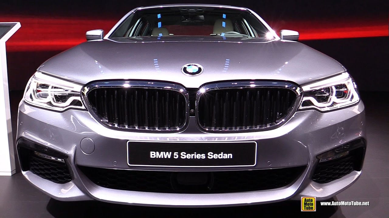 2017 bmw 540i m sport exterior and interior walkaround debut at 2017 detroit auto show youtube. Black Bedroom Furniture Sets. Home Design Ideas