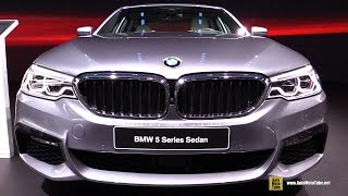 2017 BMW 540i M Sport - Exterior and Interior Walkaround - Debut at 2017 Detroit Auto Show