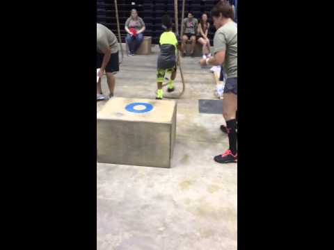 Coby crossfit competition