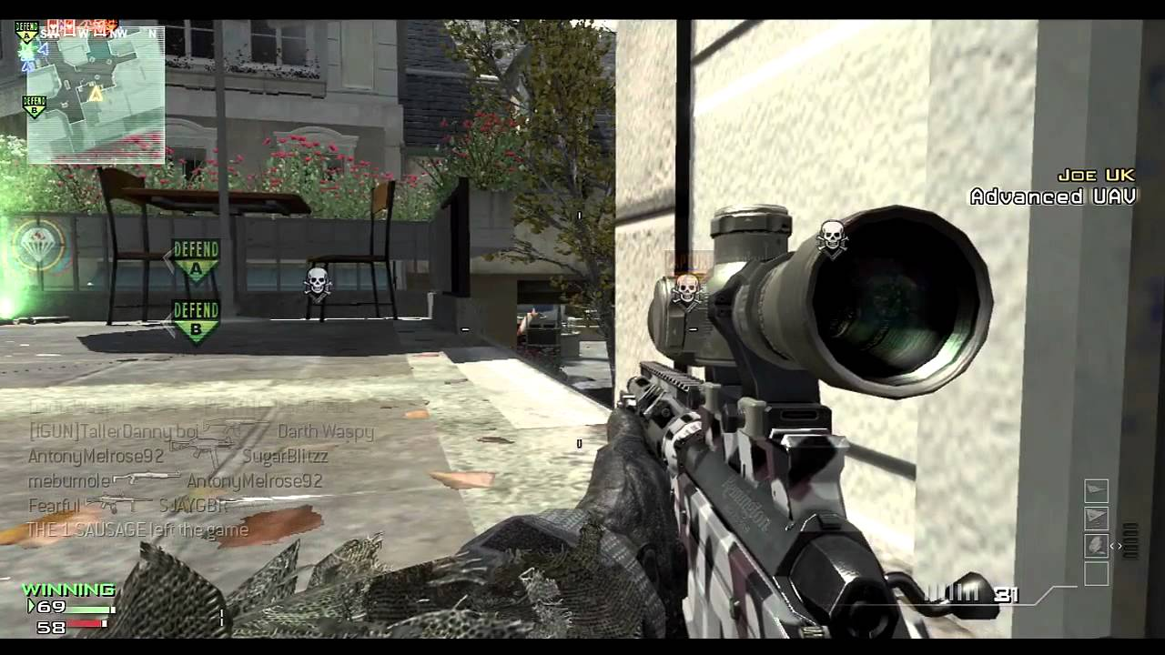 COD Modern Warfare 3 Sniper Rifles | Video Games | George's Tech Blog