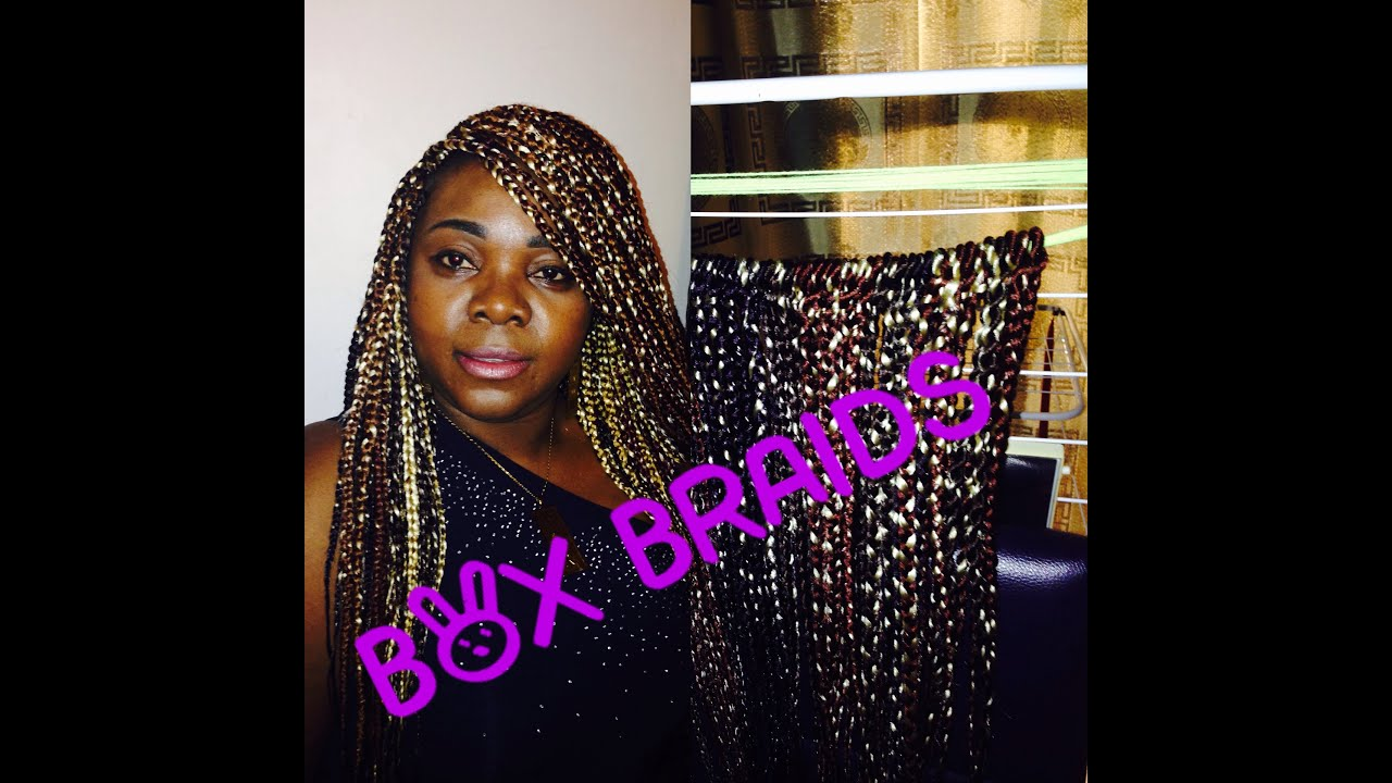 HOW TO CREATE CROCHET BOX BRAIDS WITH PERFECT COLORS - YouTube