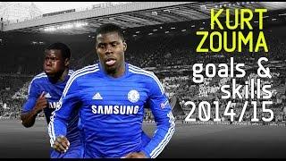 Kurt Zouma  Goals amp Tackles  Chelsea FC  201415
