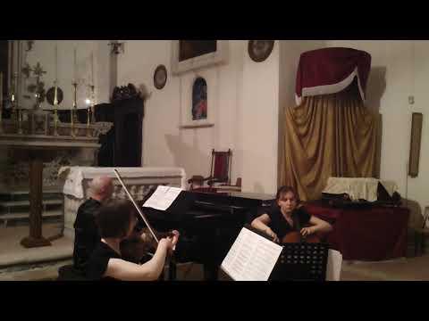 Shostakovich - Piano Trio Op. 8 - Trio Arciduca