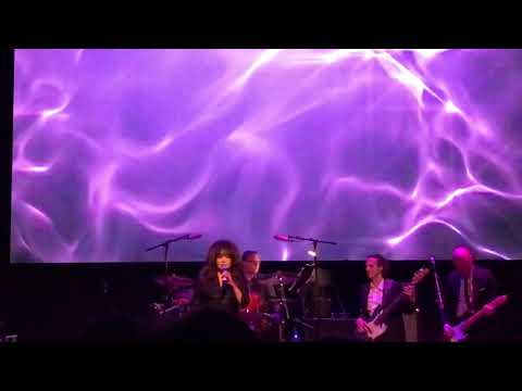 "Ronnie Spector performs ""I Wish I Never Saw The Sunshine"" at the Arcada Theatre on 12/9/18."