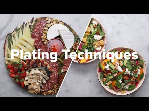 Plating Techniques For A Four-Course Dinner • Tasty