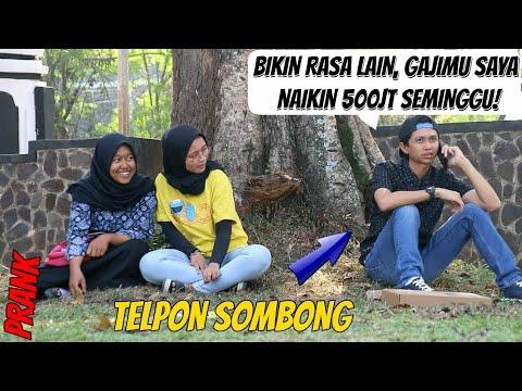 TELPONAN SOMBONG BOS SABUN BOLONG | Prank Indonesia