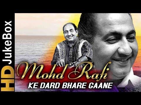 Mohammed Rafi Ke Dard Bhare Gaane | Bollywood Evergreen Sad Songs Collection | Old Hindi Songs