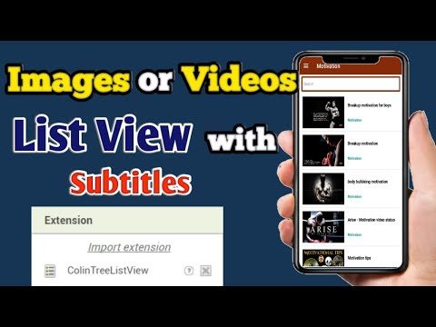 How to use ColinListTreeView in kodular in telugu Part #01 | Chandu 4ever