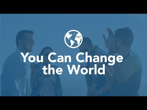 You Can Change the World - Bruce Downes The Catholic Guy
