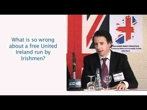 DUP Question 8 What is so wrong about a free United Ireland run by Irishmen?