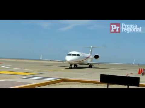 Arribo primer vuelo comercial de Star Perú a Ilo