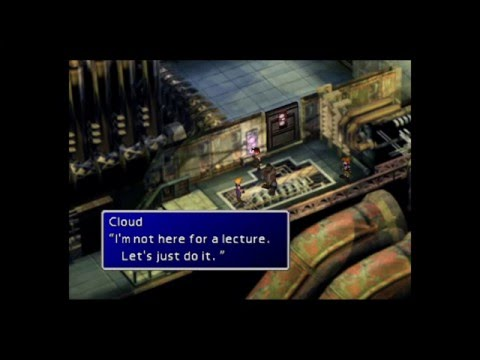 FINAL FANTASY VII - Sector 1 Mako Reactor Bombing - Longplay (Part 1)