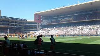 At dhl newlands rugby stadium