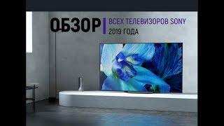 Обзор телевизоров SONY 2019 года