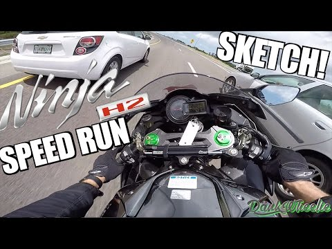 Ninja H2 FULL SPEED - FASTEST I'VE EVER BEEN