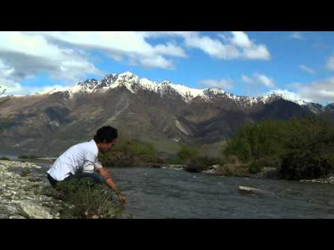 Wudhu Tepi Sungai di Queenstown, New Zealand