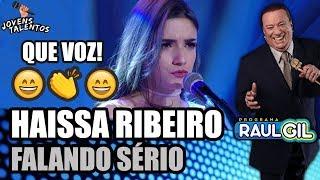 "HAISSA RIBEIRO CANTA ""FALANDO SÉRIO"" NO JOVENS TALENTOS 2018 (RAUL GIL)"