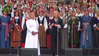 00040 Pasaules latviešu dienu koru un folkloras kopu koncerts
