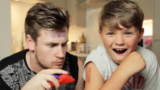 Brothers Give Each Other Tattoos