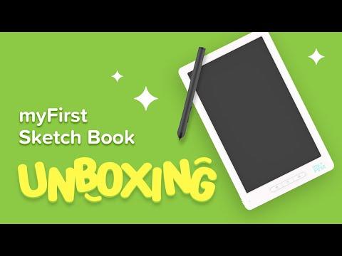 myFirst Sketch Book Unboxing Video – Kids Smart Sketch pad