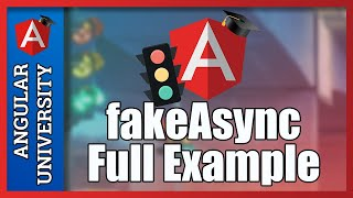 💥 Testing Asynchronous Code with fakeAsync - Full Example