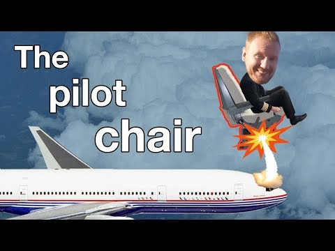 How does the aircraft Pilot seat work?