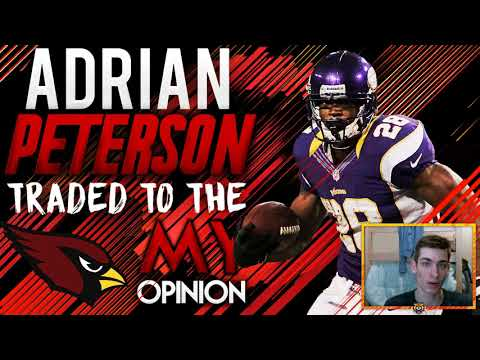 ADRIAN PETERSON TRADED TO THE ARIZONA CARDINALS! SAINTS FINALLY TRADE AP!