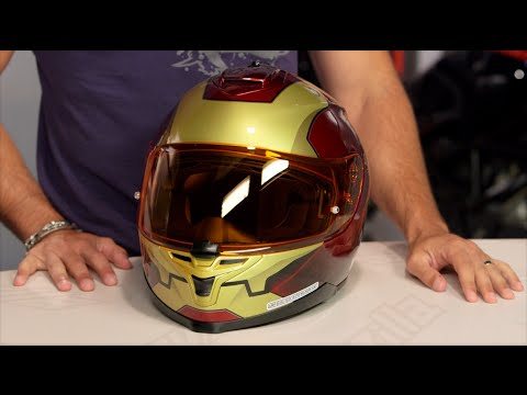 hjc is 17 iron man helmet review at youtube. Black Bedroom Furniture Sets. Home Design Ideas