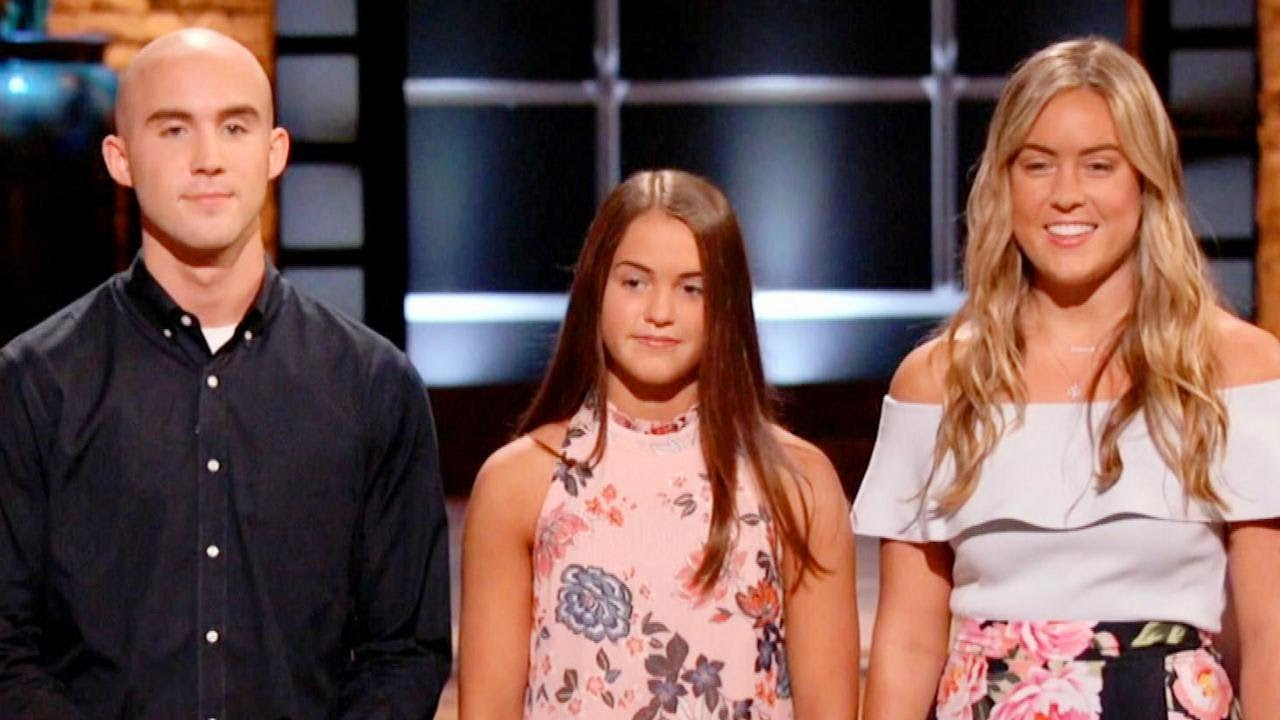 3 Siblings Pitch Fallen Firefighter Dad S Invention On Shark Tank
