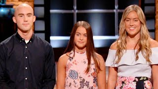 3 Siblings Pitch Fallen Firefighter Dad's Invention on 'Shark Tank'