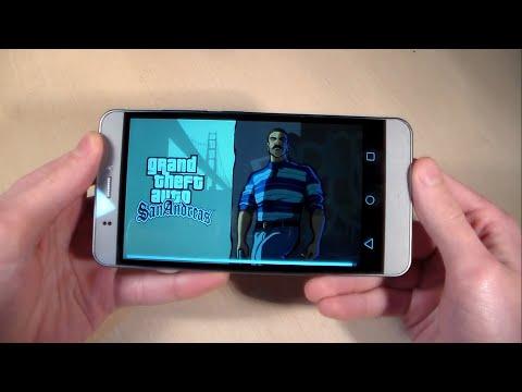 Игры на Prestigio Muze E3 (GTA:SanAndreas, ModernCombat5, SubwaySurf)