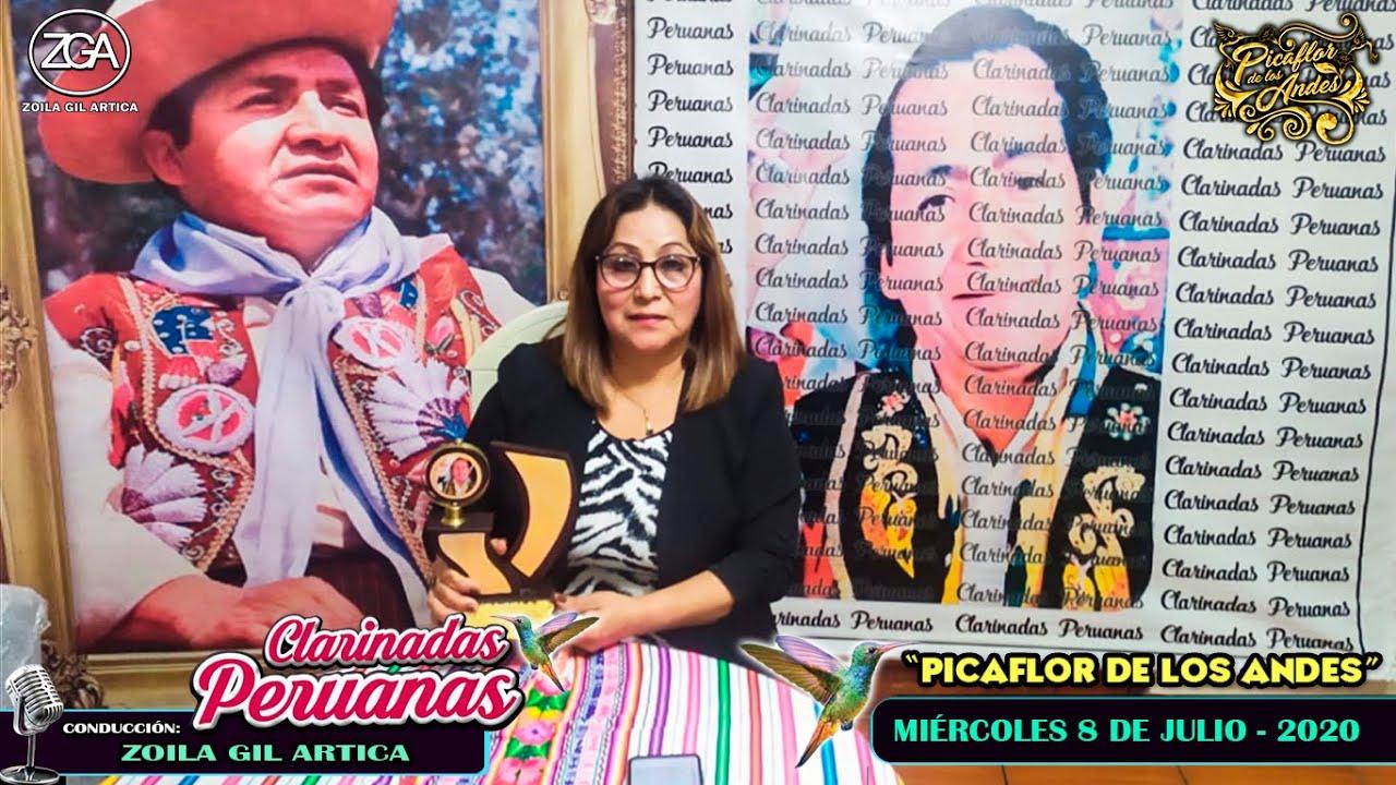 """Clarinadas Peruanas con """"Picaflor de los Andes"""" - Mie 8 Jul 2020"""