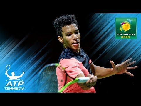 Auger-Aliassime and de Minaur shine on day two    Indian Wells 2018 Highlights Day 2